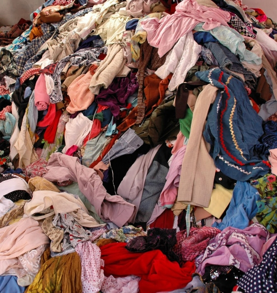 Clothing clutter must be culled!