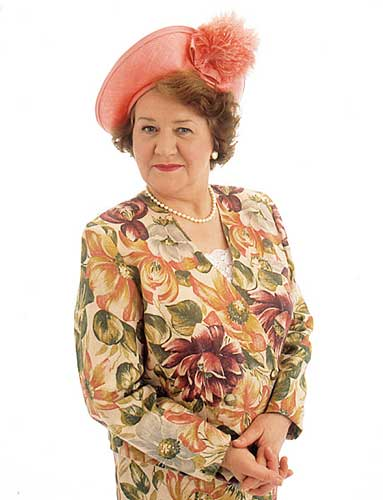 Hyacinth Bucket - the queen of the overblown florals.