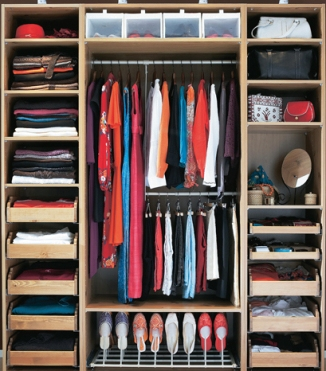 The OCD wardrobe - we can dream!