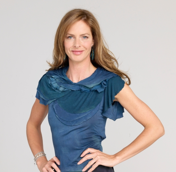 A home dye job made the t-shirt is Trinny's new best friend