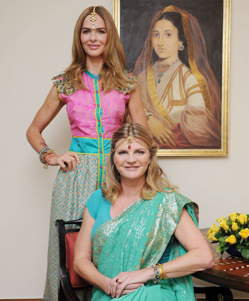 Are you ready for Trinny & Susannah's Makeover Mission India? photo: Calcutta Telegraph